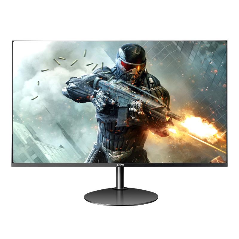 HYC27英寸显示器IPS超薄无边框游戏家用办公两用台式液晶电脑屏幕