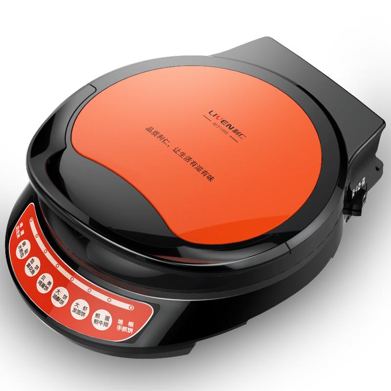 利仁LRT-310C电饼铛双面加热自动断电家用电饼档煎饼机烙饼锅加深