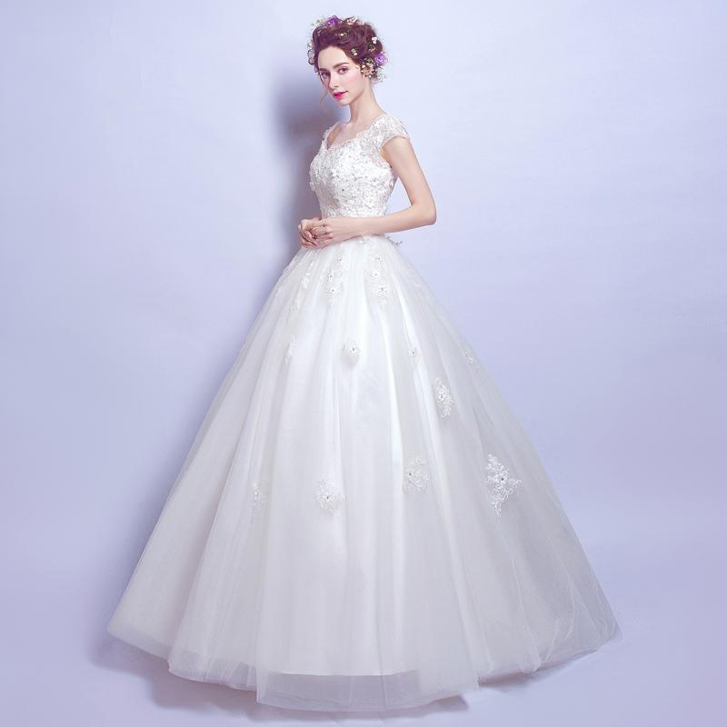 Wedding Dress Fairy Beauty Fairy Lace Flower Word Princess Princess ...