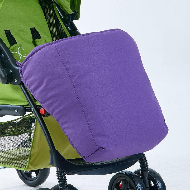 Цвет: Коляски для ног крышка фиолетовый