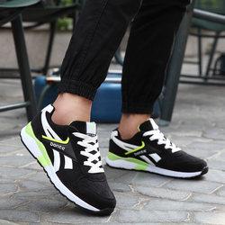 邦特男鞋运动鞋男正品秋冬季新款跑步鞋潮流休闲学生复古慢跑鞋
