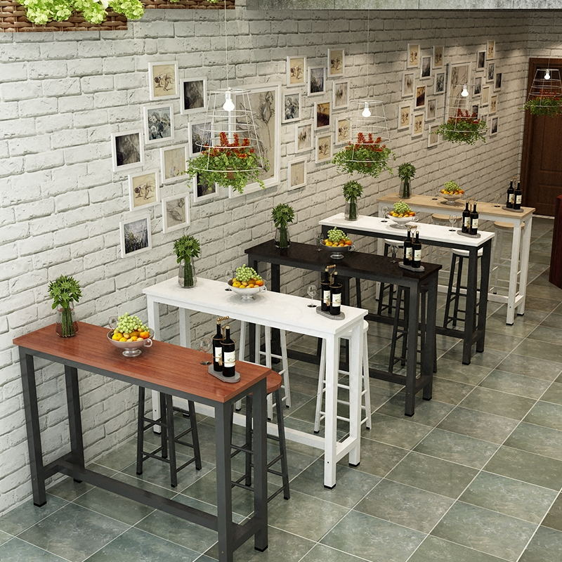 Simple Bar Table Home Wall Small Bar Living Room Partition Porch Narrow  Table Small Long Table High Table Can Be Customized