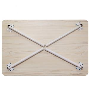 2平米 笔记本电脑桌床上书桌宿舍学生学习上铺懒人单管腿折叠桌床上餐桌