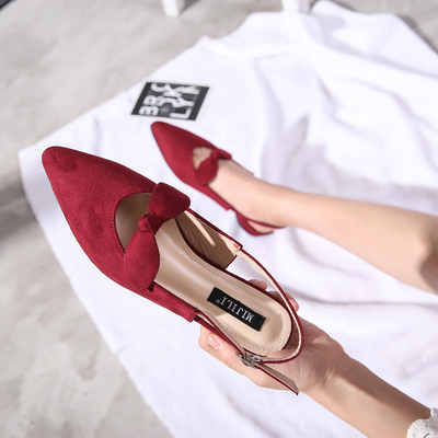 Flat shallow mouth Womens Fashion party dress shoes woman we...