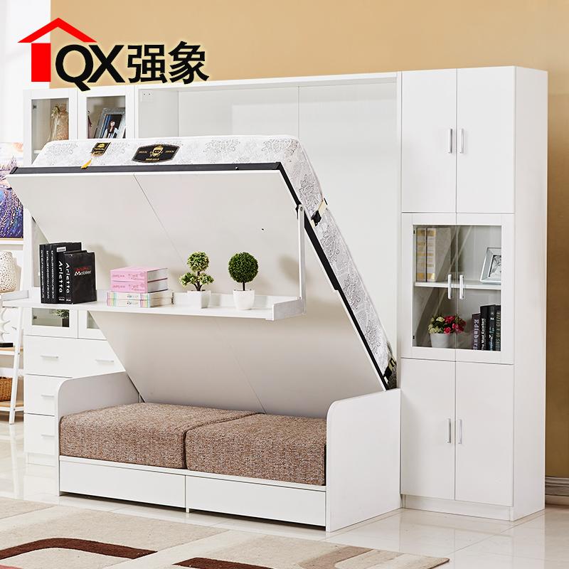 强象折叠床墨菲床隐形床单人双人床壁床多功能小户型隐藏床CH-011