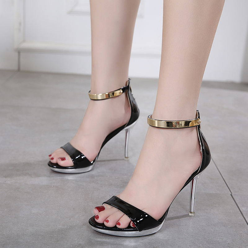 New Arrived Celebrity Classic High Heel Women Sandals Sexy Stiletto Pump Party shoes's main photo