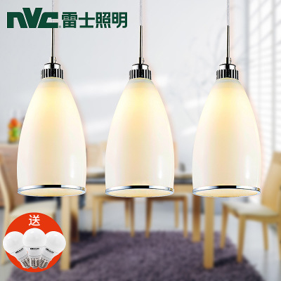 NVC lighting official flagship official website to eat restaurant lights led lamp Rex pendant lamp three modern minimalist