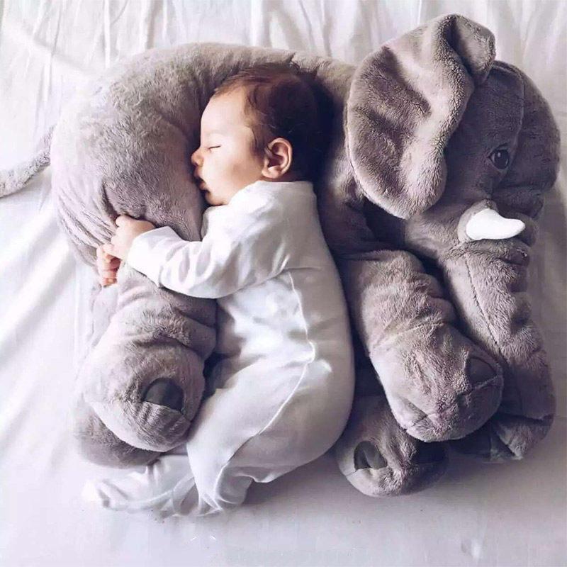 大象抱枕被子两用汽车多功能靠枕珊瑚绒午睡毯子折叠空调被办公室