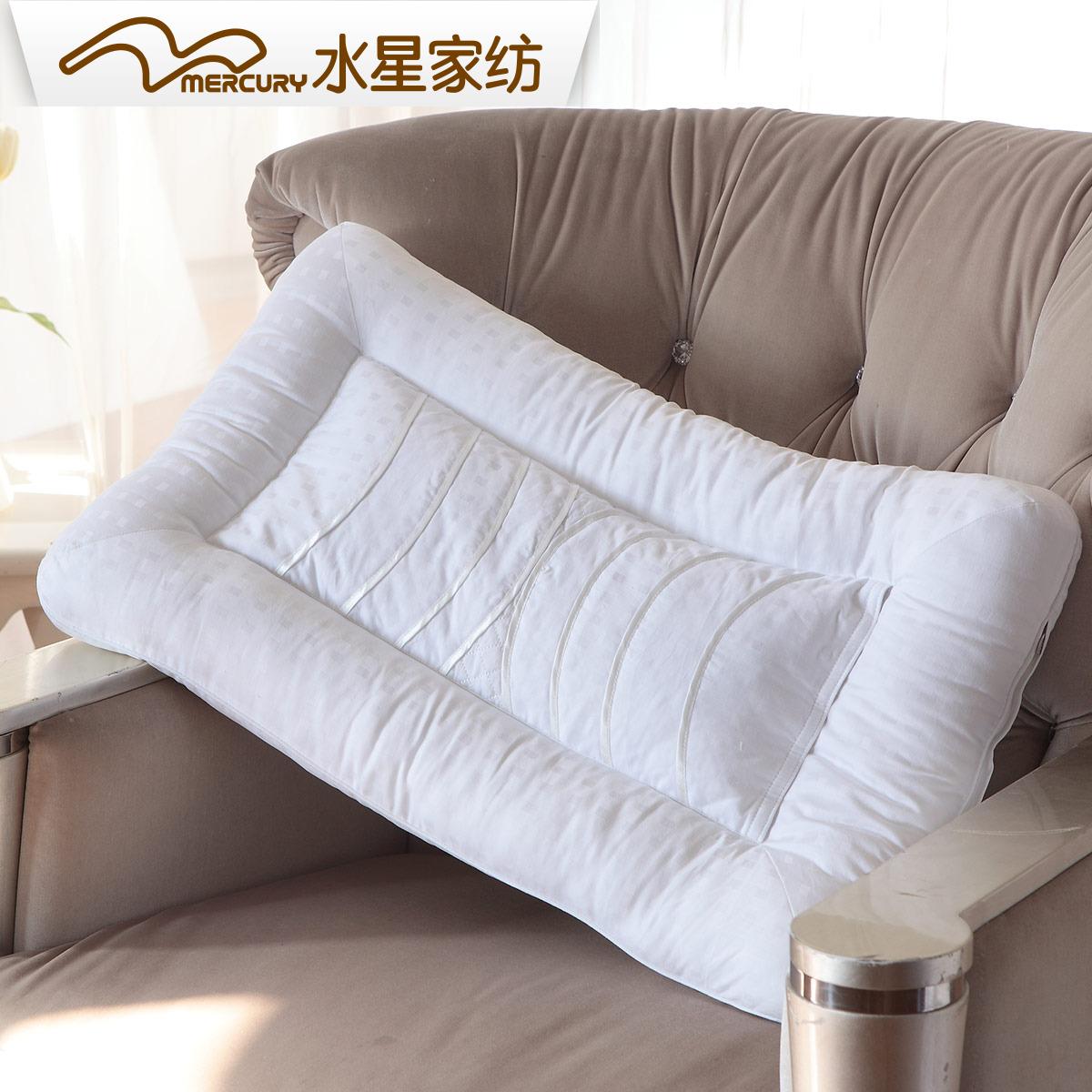 水星家纺决明子枕头一只装正品成人枕芯护颈枕睡眠单人装家用