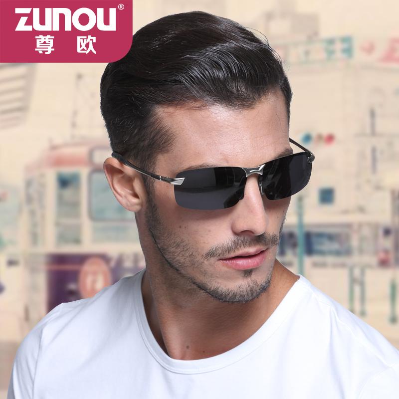 男士开车偏光太阳镜男司机镜驾驶眼睛潮人太阳眼镜新款遮阳墨镜