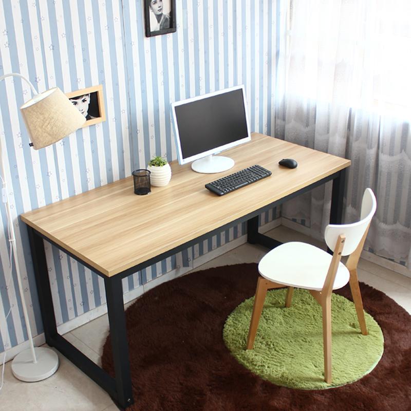 2平米 宜家简约台式电脑桌双人办公桌简易家用写字桌书桌长条桌长方形桌