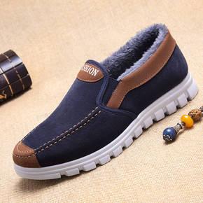 冬季老北京布鞋男棉鞋爸爸鞋老人鞋