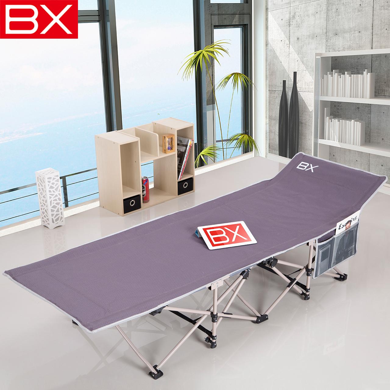 bx双层布加强加固折叠午休床BXA01D