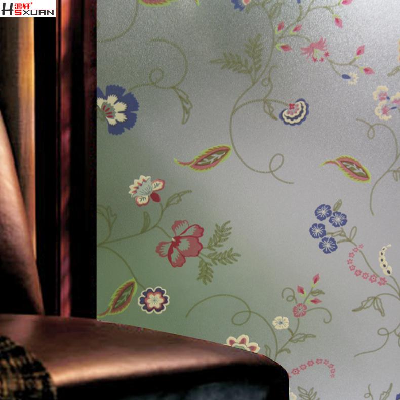 鸿轩静电玻璃贴膜推拉门20120307