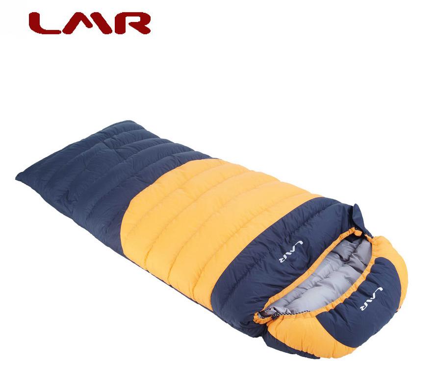 lmr 信封式羽绒睡袋 成人加厚冬季可拼接双人户外-40度2000克