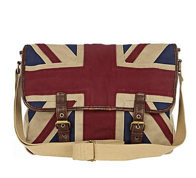 сумка OTHER  River Island ECRU UNION JACK SATCHEL