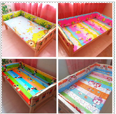 Children bed surrounding fence surrounding your baby bed child Wai Wai baby bedspread cotton bed sheets can be customized