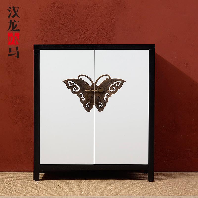 汉龙赤马2014现代中式风格装饰柜j221