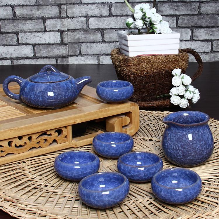 百鸿茶具7款可选冰裂茶具T-BL06
