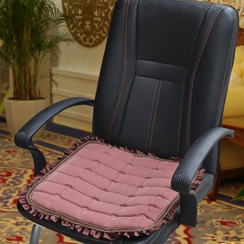 Подушка для компьютерного стула своими руками6