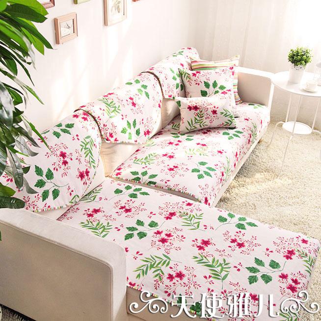 天使雅儿韩式田园双面沙发垫093