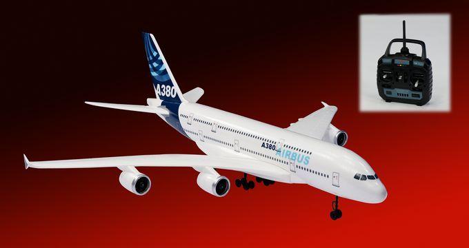 Самолет на дистанционном управление Tiansheng  EPO A380