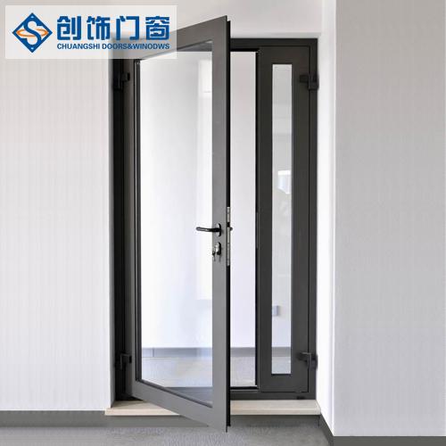 创饰门窗单层窗平开门50型1.4mm厚