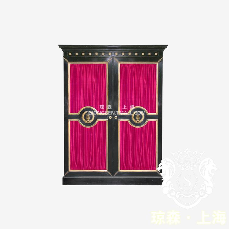 琼森后现代做旧双门储物柜9x001 (167)