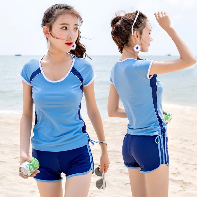 羽克女士泳裤泳镜泳帽套装-优惠价20元销量6617件