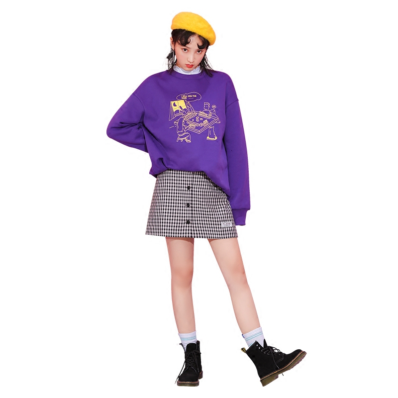 179 optional two X joint models Limited love pill huangcan co fleece sweater