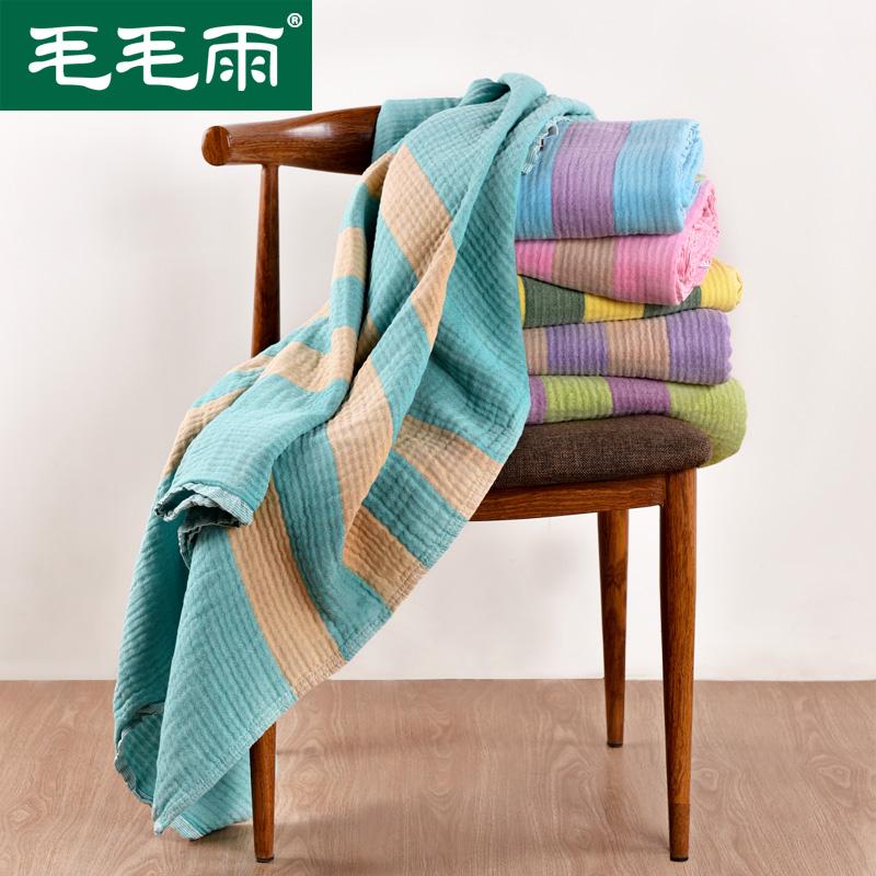 毛毛雨纱布毛巾被040136