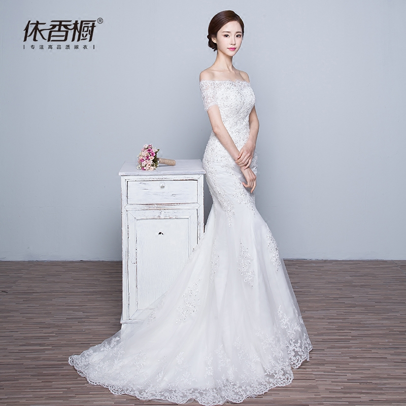 Wedding dress In accordance with Hong cabinet 00498 2017