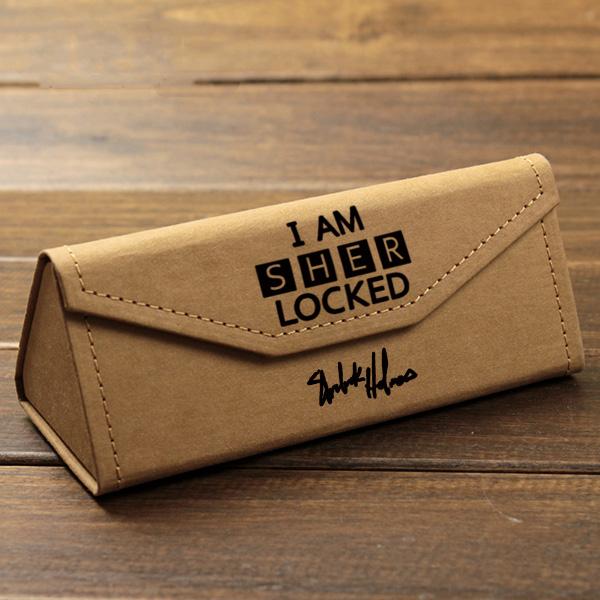 神探夏洛克 Sherlock 福尔摩斯 卷福明星周边动漫折叠便携 眼镜盒