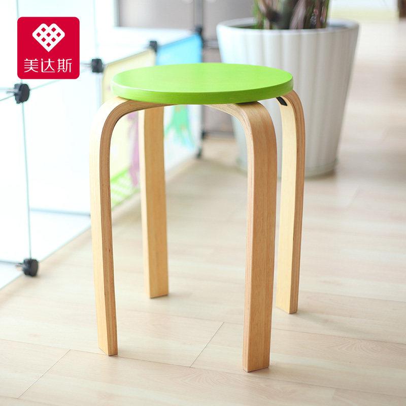 美达斯实木凳12313