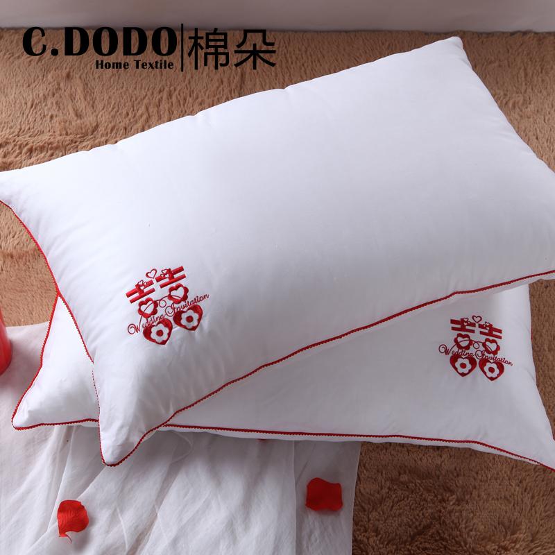 c.dodo/棉朵全棉婚庆枕头816120607101