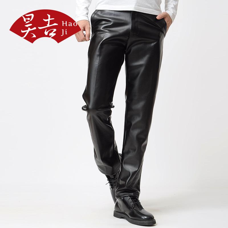 Кожаные брюки Hao Ji 805