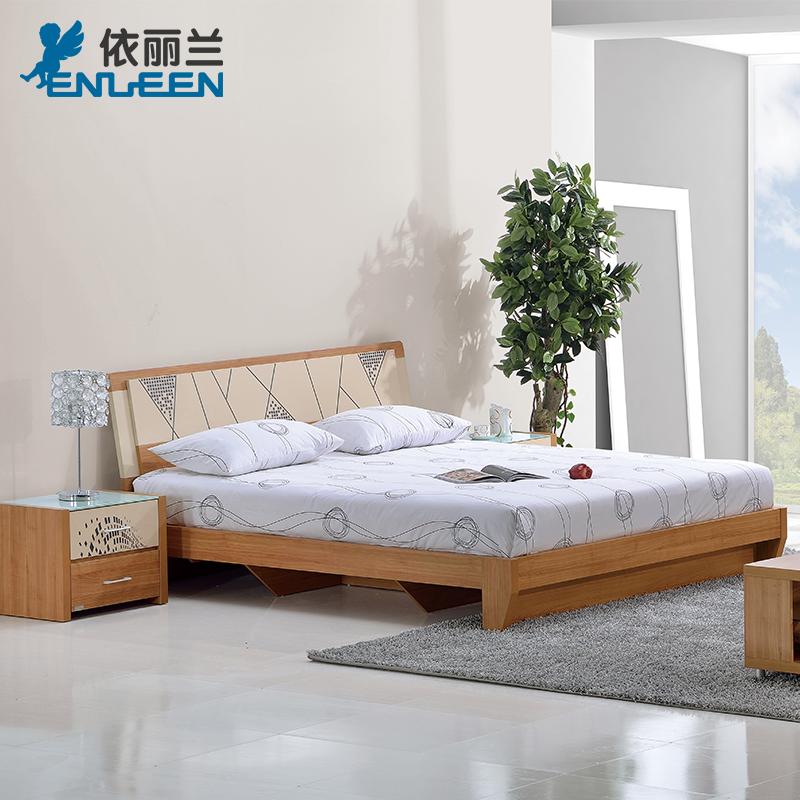 依丽兰现代板式床B05