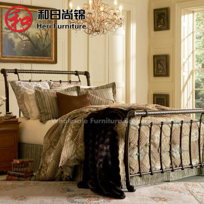Кровать с металлическим каркасом Shang/Jin and Japanese 1.5 1.8