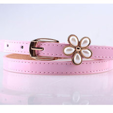 Belt Pearl flower belt
