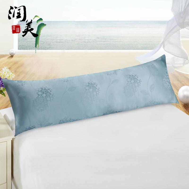 润美双面真丝双人枕头套SRZT20150910