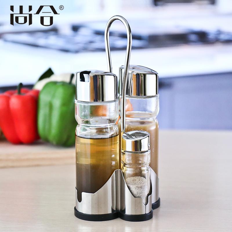尚合餐桌玻璃调味瓶SH-SC109
