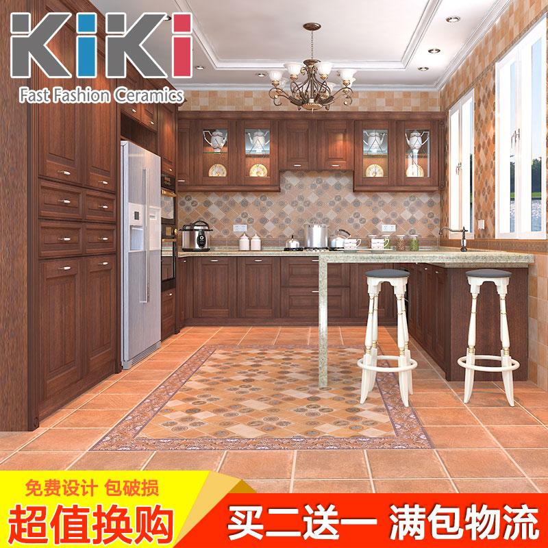 kiki复古腰线砖KZP021