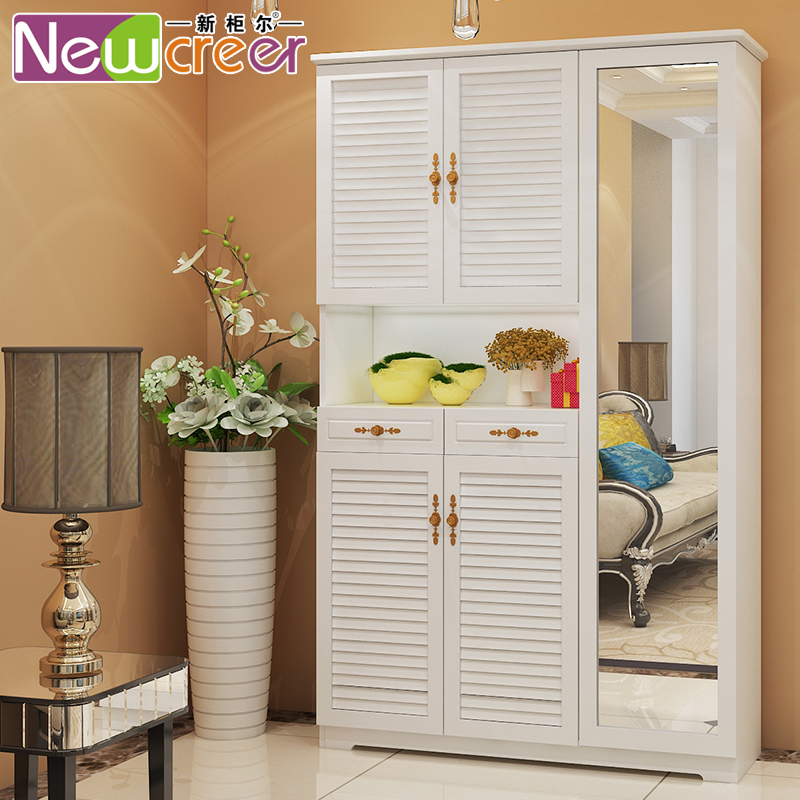 新柜尔烤漆实木储物衣柜PC082