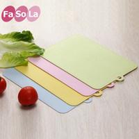 日本Fasola菜板塑料砧板小水果砧板案板切菜板板子分类环保粘板