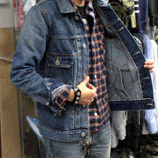 Куртка Inhere DENIM JACKET VISVIM 101