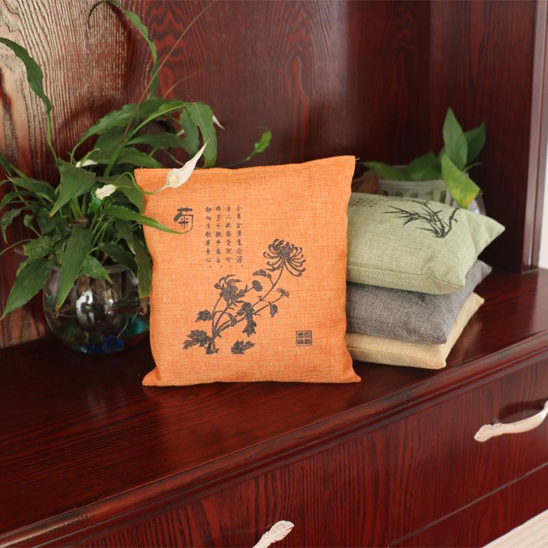 活性炭包新房去除甲醛除味剂家用碳包室内家具衣柜竹炭包净化空气