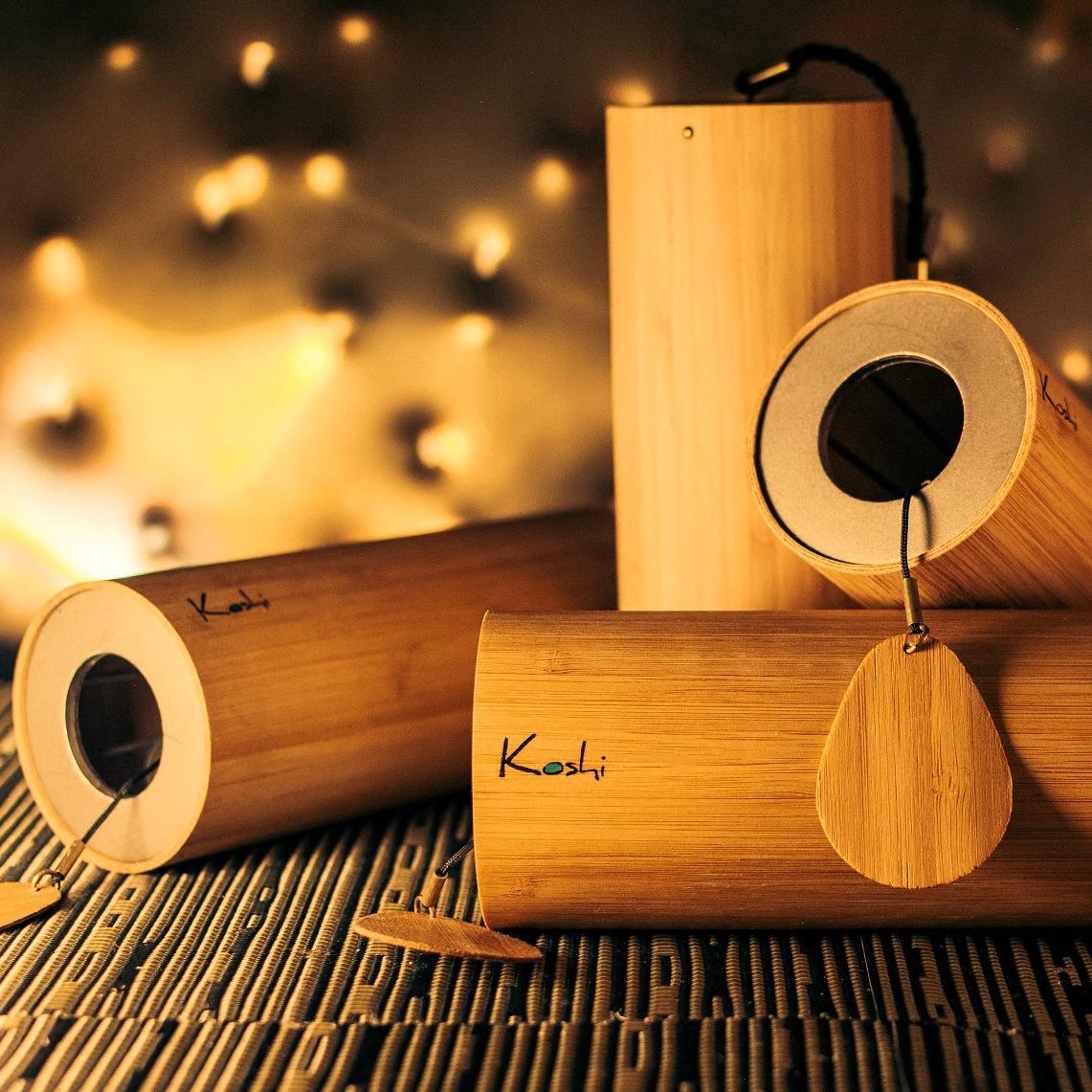 法国KOSHI歌诗风铃手摇铃疗愈瑜伽冥想乐器少寒洛