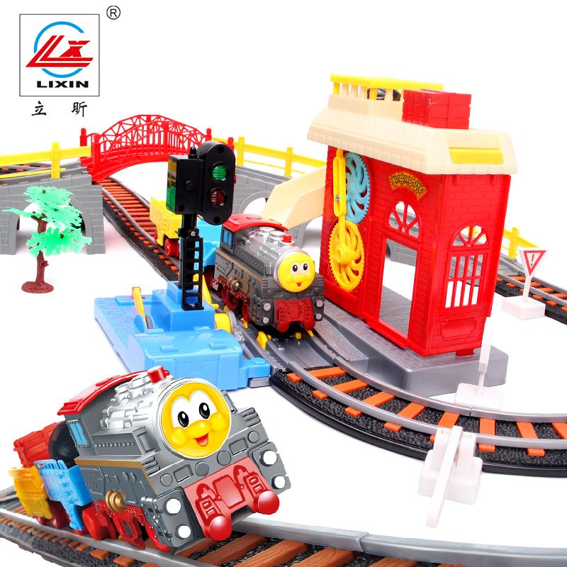 Железная дорога на электро-, радиоуправлении LIXIN lx25188