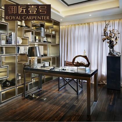 御匠壹号现代新中式书房古典家具实木写字桌DJ-4010