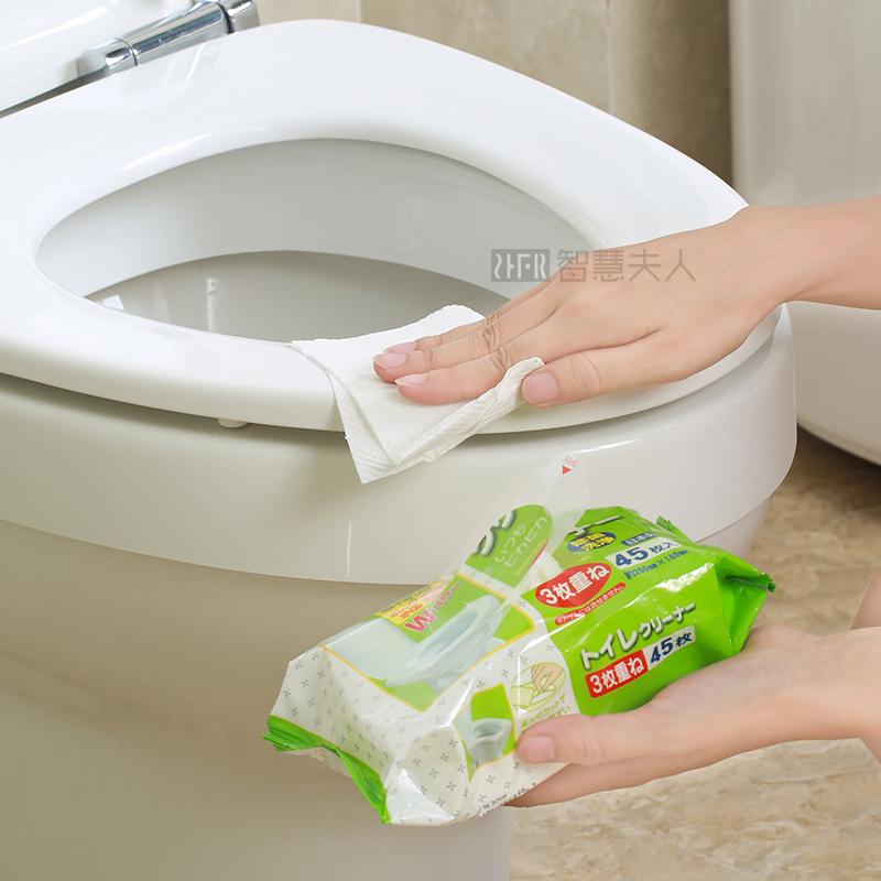 智慧夫人日本马桶湿巾除菌清洁湿巾ZHFR-107355